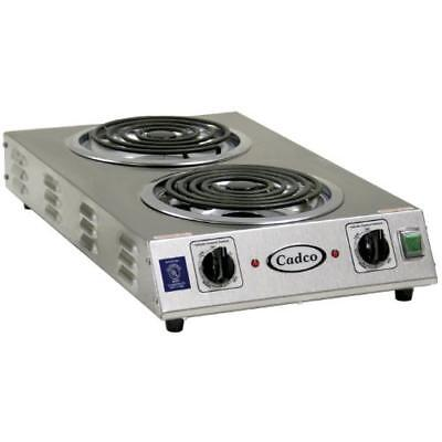 Cadco - CDR-2TFB - Double Spacer Saver Hot Plate - 220V/3,000W
