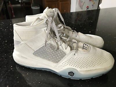 the latest 82111 eab0f Adidas Mens D Rose 773 IV White Basketball Shoes D69431 Sz 14 2015