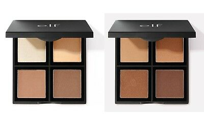 E.L.F. Studio Contour Palette choose shade Light or Dark NIB ELF Bronzer Blush