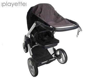 Playette Stroller Sunshade - Charcoal