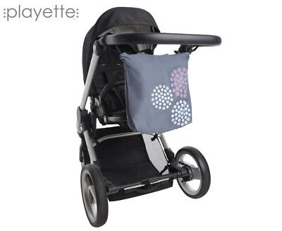 Playette Stroller Shopping Bag - Charcoal