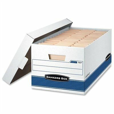 Bankers Box Stor/file - Legal, Lift-off Lid 4pk - 700 Lb - Stackable - Medium