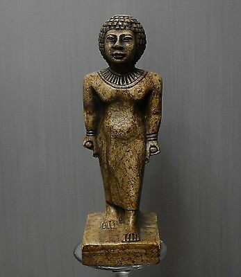 ANCIENT ANTIQUE Egyptian stone queen TIYE 1398 -1338 BC