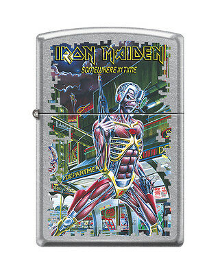 "Zippo ""Iron Maiden"" Street Chrome Finish Lighter, Full Size,  3380"