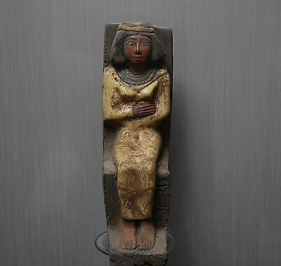 ANCIENT ANTIQUE Egyptian stone queen Nefertiti (1370-1330 BC)
