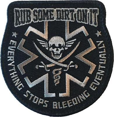 Rub Some Dirt On It - SWAT - Embroidered Morale Patch