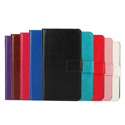 For Samsung Galaxy C7 New Leather Wallet Case Superior Cover Protector Pouch