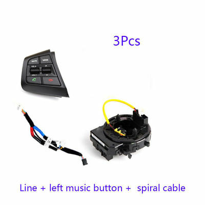 Details about  3pcs FOR HYUNDAI Creta IX25 Clock Spring Bluetooth Button Cruise