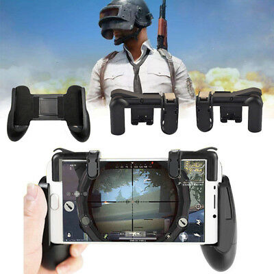 Gaming Trigger L1R1 Mobile Phone Fire Button Shooter PUBG Controller + Gamepad