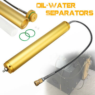 Aluminum PCP Air Compressor Oil-Water Separators 30 Mpa & High Pressure Hose 8mm