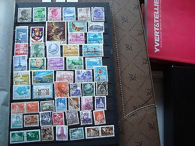 romania - 52 stamps canceled (all state) stamp romania