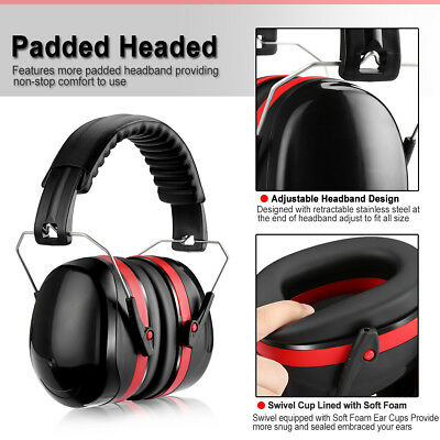 Professional Safety Ear Muffs Shooting Hearing Protection Noise Canceling 32dB