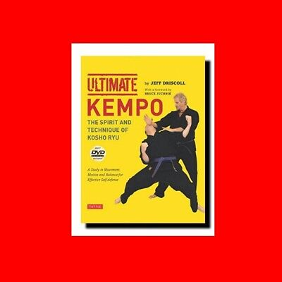 ☆Martial Arts Book:ultimate Kempo(Kenpo)Karate:fist%Law-Balance+Spirit+Technique