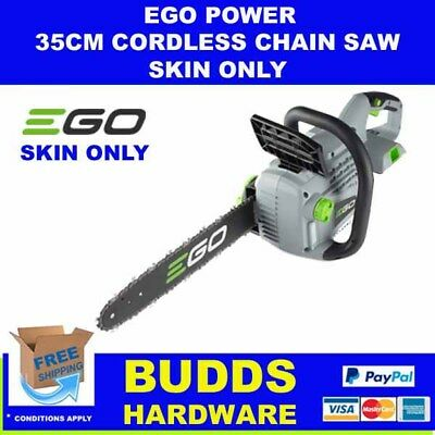 Ego 56V Lithium-Ion 35Cm Cordless Chainsaw Skin Only
