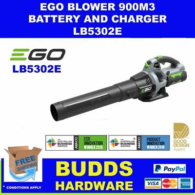 Ego 56V Battery Blower 900M³/h Cordless With Battery & Charger