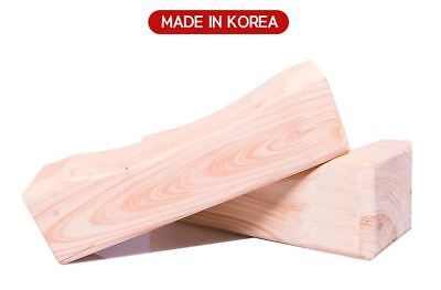 HINOKI SQUARE PILLOW-CYPRESS-WOODEN-PHYTONCIDE-MADE IN KOREA  25*8*8cm