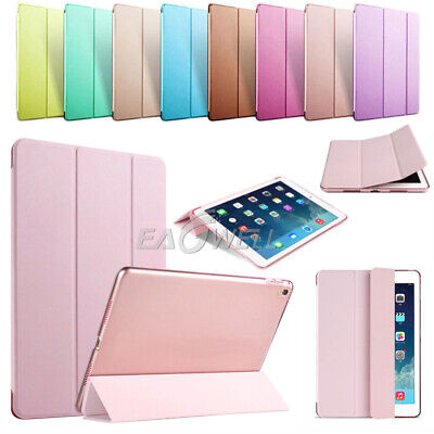 "For iPad 6th Generation 9.7"" 2018 Magnetic Slim PU Leather Smart Cover Case+Film"