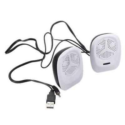 Portable Stereo Music Player Speakers 2pcs Mini USB For MP3 Laptop PC Computer