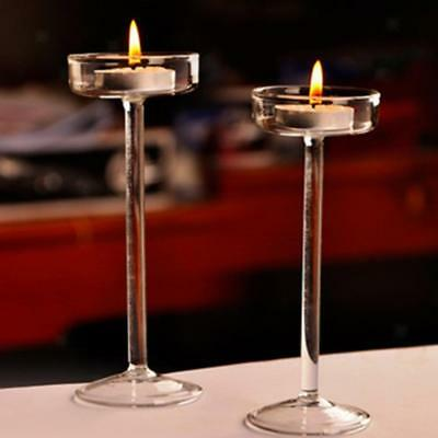 Set of 3 Votive Candles Bulk Candle Holders for Wedding Church Candles 19cm