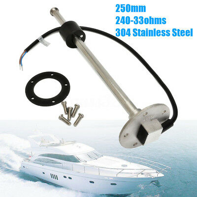 250mm Marine Boat Water Fuel Sending Unit Tank Level Sender Sensor  240-33 ohms