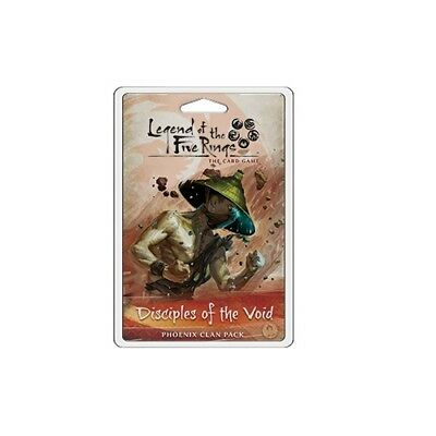 Legend of the Five Rings The Card Game: Disciples of the Void Clan Pack
