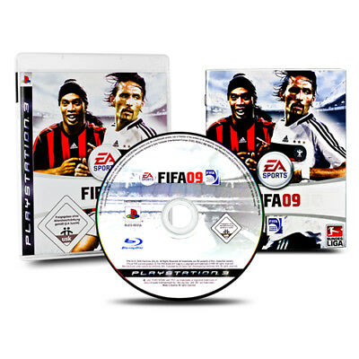 PS3 - PlayStation 3 Spiel FIFA 09 - FIFA 2009 - Fußball in OVP mit Anleitung