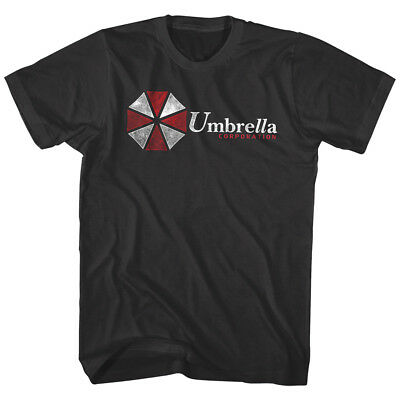 OFFICIAL Resident Evil Umbrella Corporation Logo Men's T-shirt Zombies