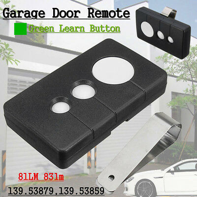 390MHz Garage Door Remote W/ Green Learn  Buttons For Sears LiftMaster 81lm 83lm