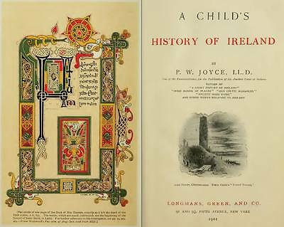 """IRELAND An Antique Literary Tour Of  """"The Emerald Isle"""" 67 Old Book Scans DVD"""