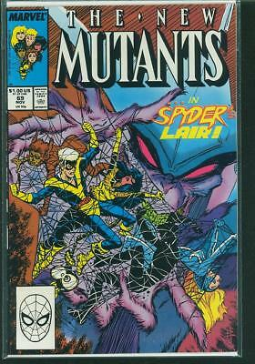 New Mutants #69,71,72,73 and #74 (5 book lot)
