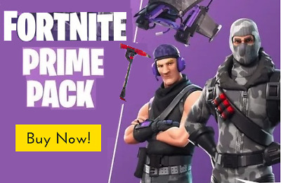 FORTNITE :TWITCH PRIME PACK (PS4/PC/XBOX) 2x OUTFITS / 1x GLIDER / 1x AXE