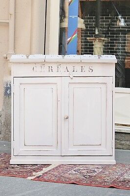 "Cabinet ""cereales"" France,first Half Of The '900/dressers/furniture Lacquered"