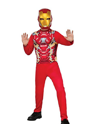Marvel Captain American Civil War Iron Man Child Costume CHECK FOR SIZE