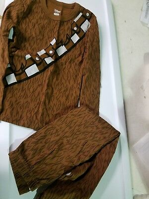 NWT Disney Store Star Wars Chewbacca Costume PJ Pals Sleep Set Wookiee Chewie