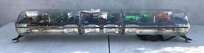 "code 3 pse 47"" mx 7000 light bar new Clear domes #10"