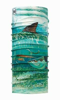 Buff Original Guy Harvey Schlauchtuch High UV Protection - silver kings