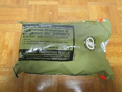 North American Rescue Hypothermia Prevention and Management Kit EXP 2020