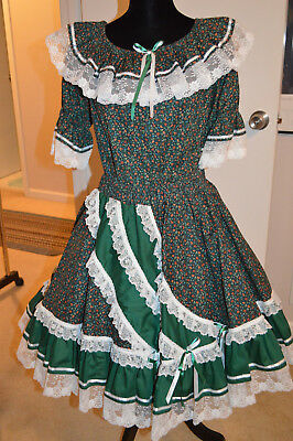 Square Dance Outfit Fun and Fancy Originals Size M