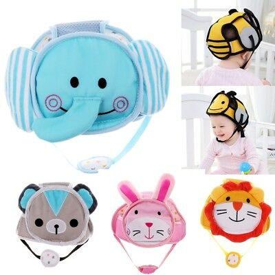 Infant Baby Toddler Safety Helmet Kids Head Protection Walking Crawling Hat
