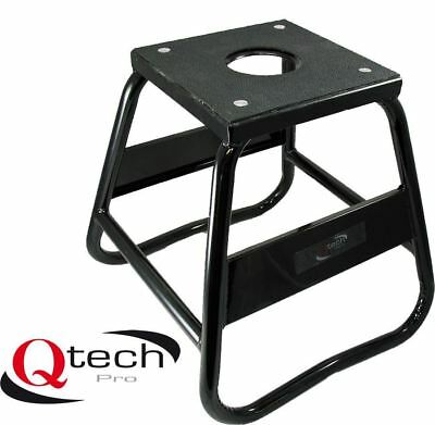 Qtech Motorcycle Motorbike Box STAND Heavy Duty with 100kg Loading Capacity