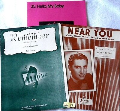 SHEET MUSIC MAGAZINE Almost Full Year 1983 - Lot of 8