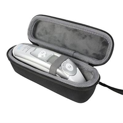 Hard Travel Case For Innovo Braun Medical Forehead & Ear Dual Mode Thermometer