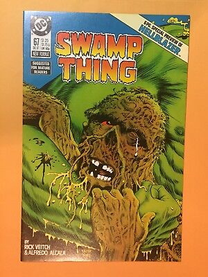 Swamp Thing 67 NM+/Mint Hellblazer Preview