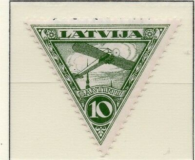 Latvia 1931 Early AIR Issue Fine Mint Hinged 10s. 233059
