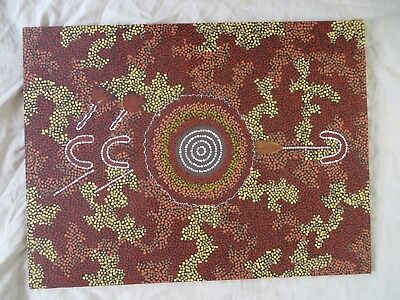 Australian Aboriginal Art Turtle