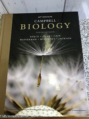 Campbell Biology 10th Edition Ap Edition 29 99 Picclick