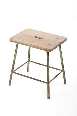 Old Wood Stool, Workshop Stools, Stool Decor Flower Bench