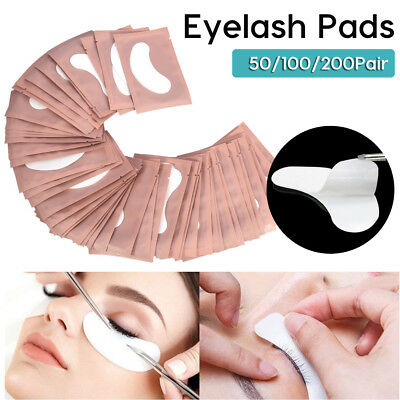 200 Pairs Eye Pad Eyelash Pad Gel Patch Lint Free Lash Extension Eye Mask Eyepad