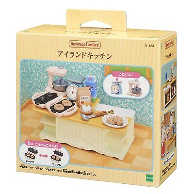 Sylvanian Families KA-423 Furniture Island Kitchen Calico Critters