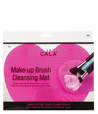 CALA BEAUTY Makeup Brush Cleansing Mat PINK NEW cleaning cleaner